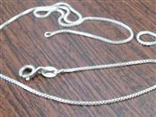 "16"" Silver Box Chain 925 Silver 2.5g"